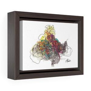 Rapture - Horizontal Framed Premium Gallery Wrap Canvas