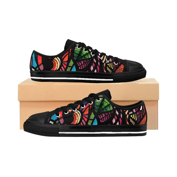 Jungle: Men's Low Top Canvas Sneakers