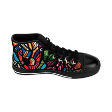 Load image into Gallery viewer, Jungle: Men's High-top Canvas Sneakers