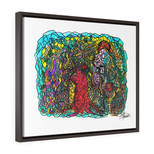Roots of Eden - Horizontal Framed Premium Gallery Wrap Canvas