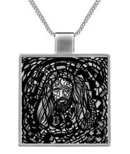 Load image into Gallery viewer, Jesus Christ Pose Necklace
