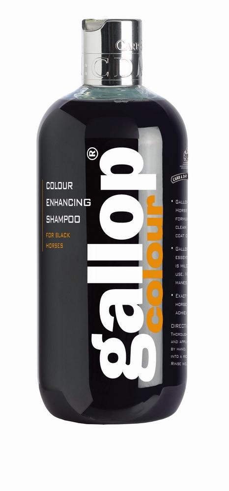Gallop Colour Enhancing Horse Shampoo-Black
