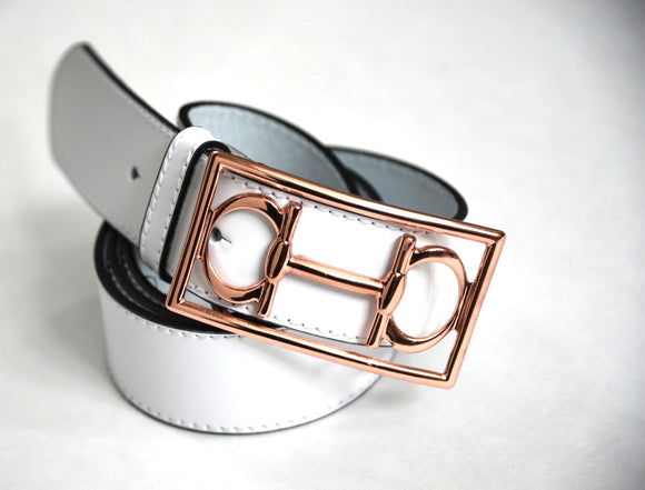 Lilo bit belt rose gold