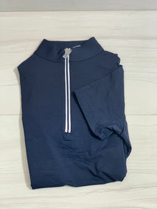 The Tailored Sportsman Icefil  Short Sleeve Zip Top