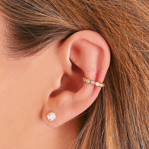 Tiara Ear Cuff - Jewelryqueen.de