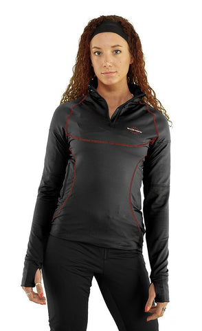 Women's Heated-Neck Oversleeve Heat Layer for 7.4V