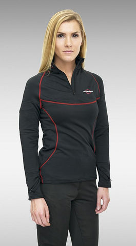Women's Heated-Neck Long Sleeve Heat Layer