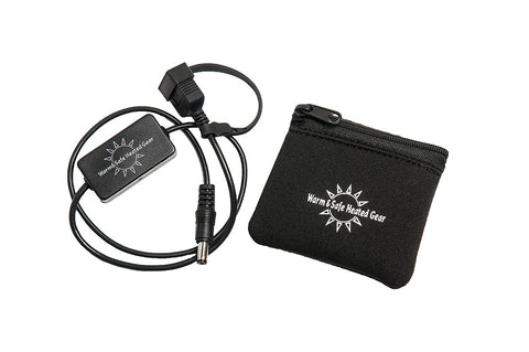 USB Charger Adapter for Motorcycle with Pouch