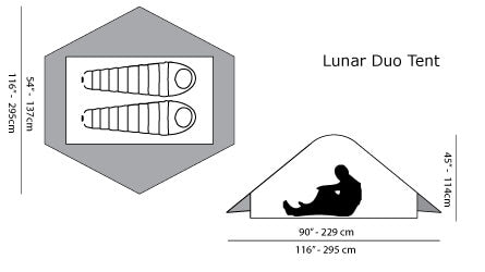 Six Moon Designs Lunar Duo ルナーデュオ 1100g