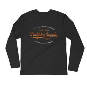 The Sherman Long Sleeve Fitted Crew - Dabbler Supply