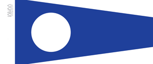 Numeral pennant 2 Two
