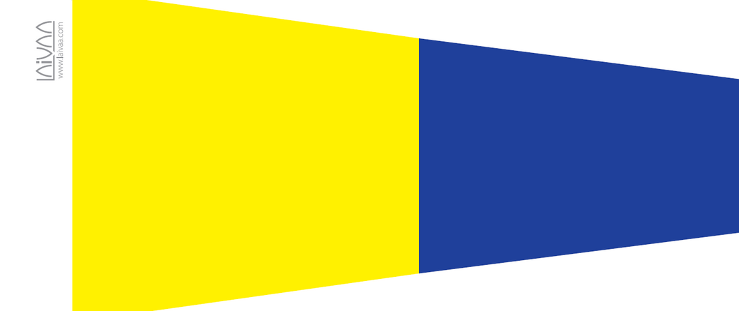 Numeral pennant 5 Five