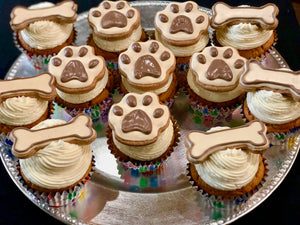 All natural dog cupcakes pupcakes birthday paws