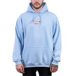 SAVAGE CLUB LIGHT BLUE HOODIE 3D LOGO