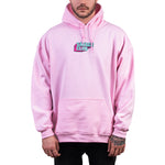 SAVAGE CLUB  LIGHT PINK HOODIE 3D LOGO