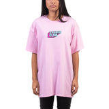 SAVAGE CLUB  LIGHT PINK  T-SHIRT  3D LOGO