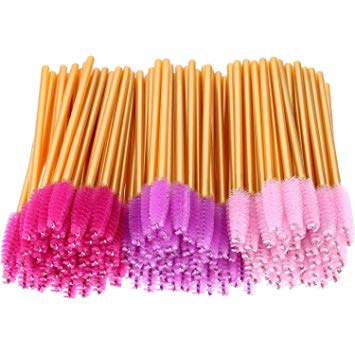 Mascara Wands (Golden Handle)