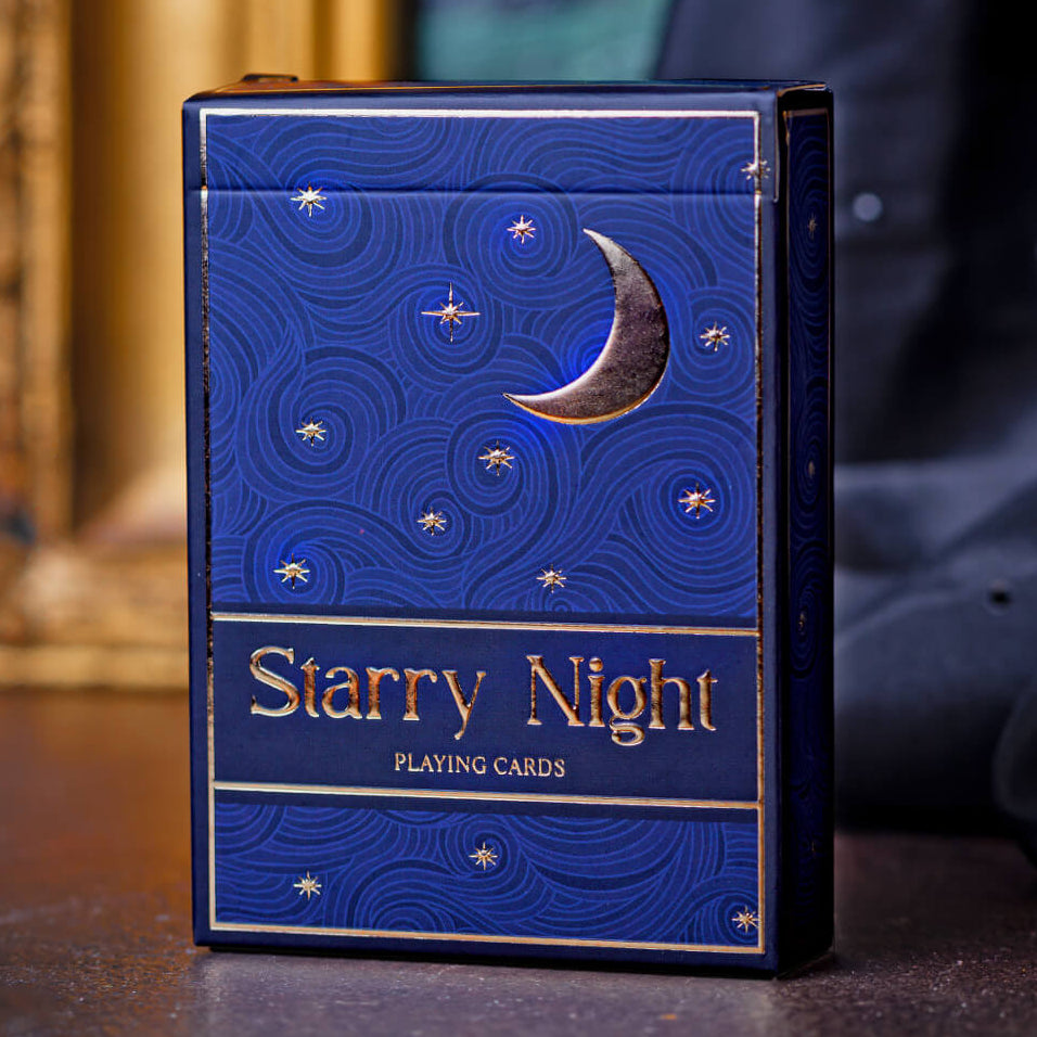 Starry Night Playing Cards
