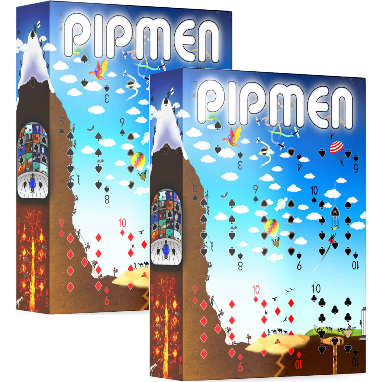 Pipmen Playing Cards