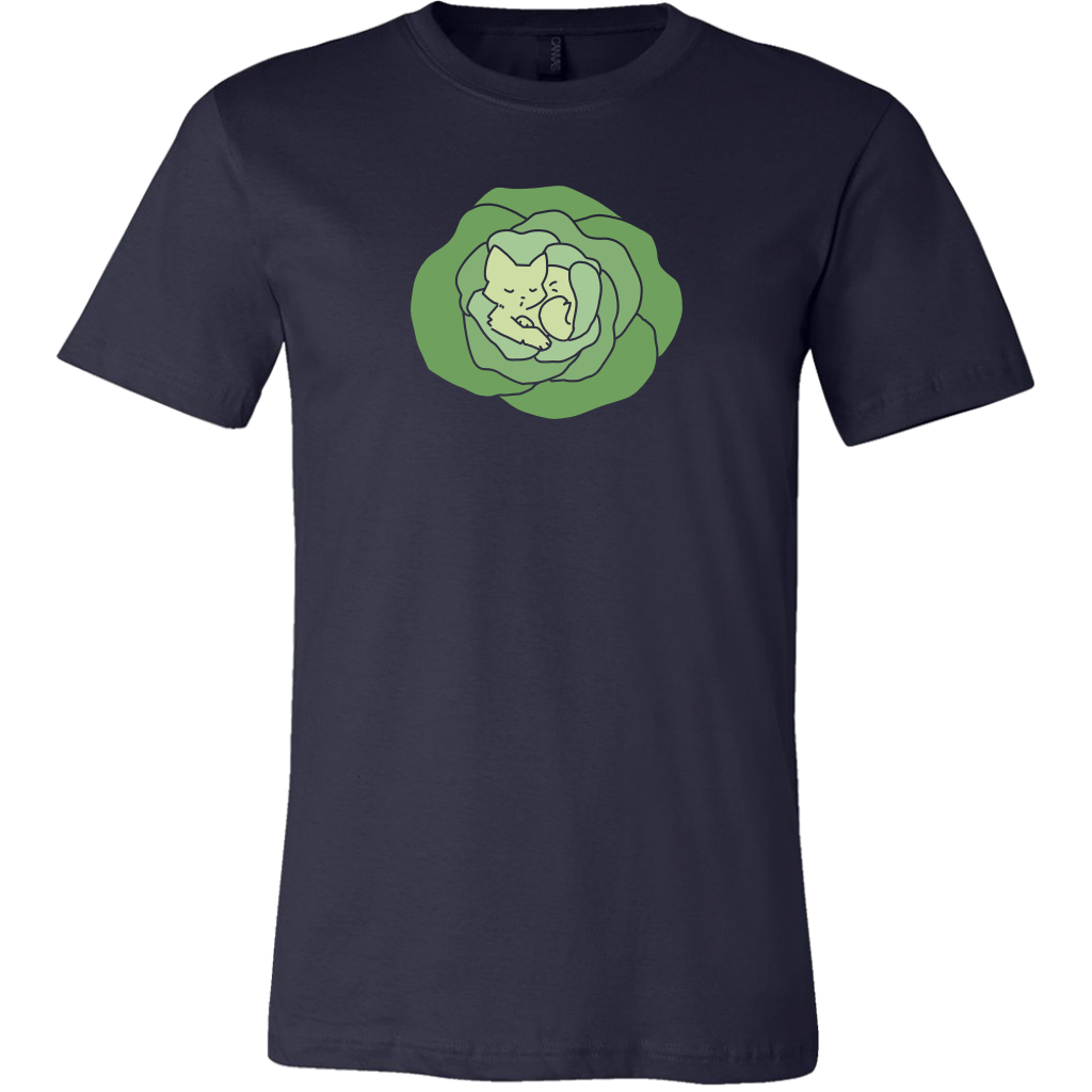 LETTUCE CAT Mens T-Shirt