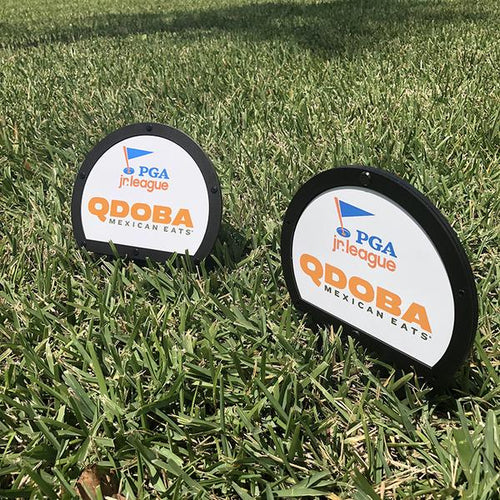 Metal Branded Tee Markers - Double Sided (18)