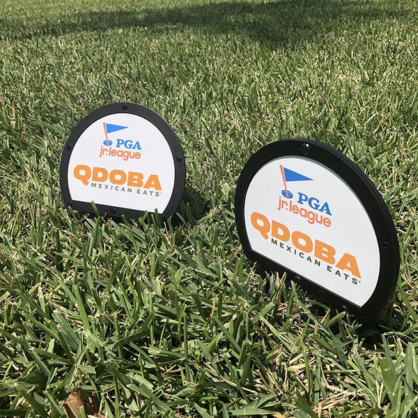 Metal Branded Tee Markers - Double Sided (2)