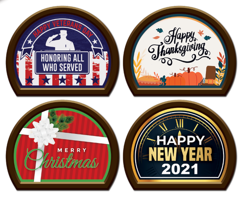 2020 Holiday Magnet Bundle