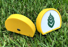 Load image into Gallery viewer, Branded Tee Markers (36) - Magnetic Insert & UV-Printed Metal