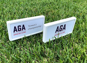 Branded Tee Markers - Double Sided (36)