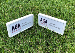 Branded Tee Markers - Double Sided (18)
