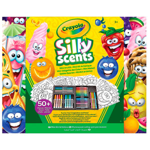 04-0015 (Crayola) - Mini Insp art case, silly scents, 4pk