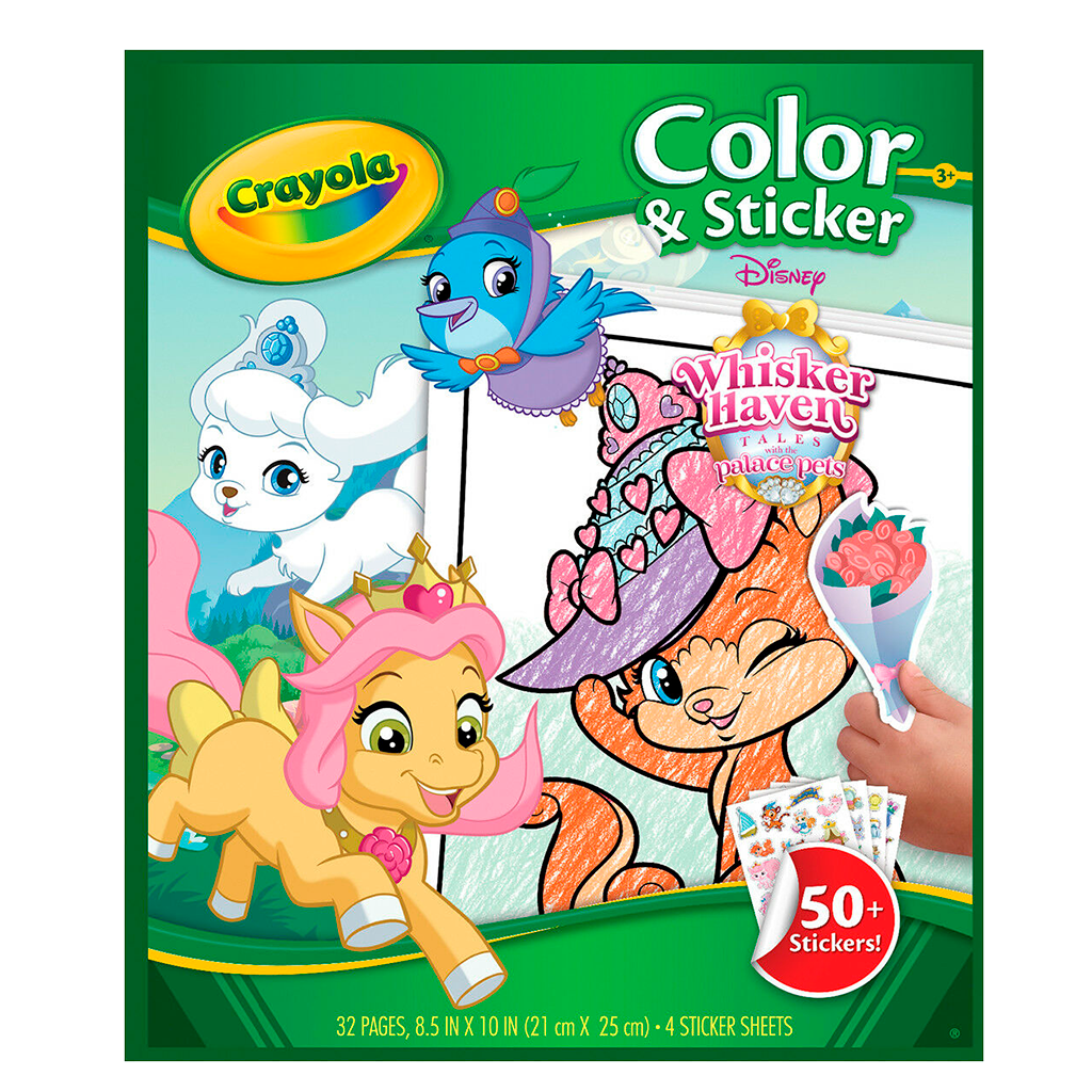 Color 'N Sticker-Whisker Haven 04-0238