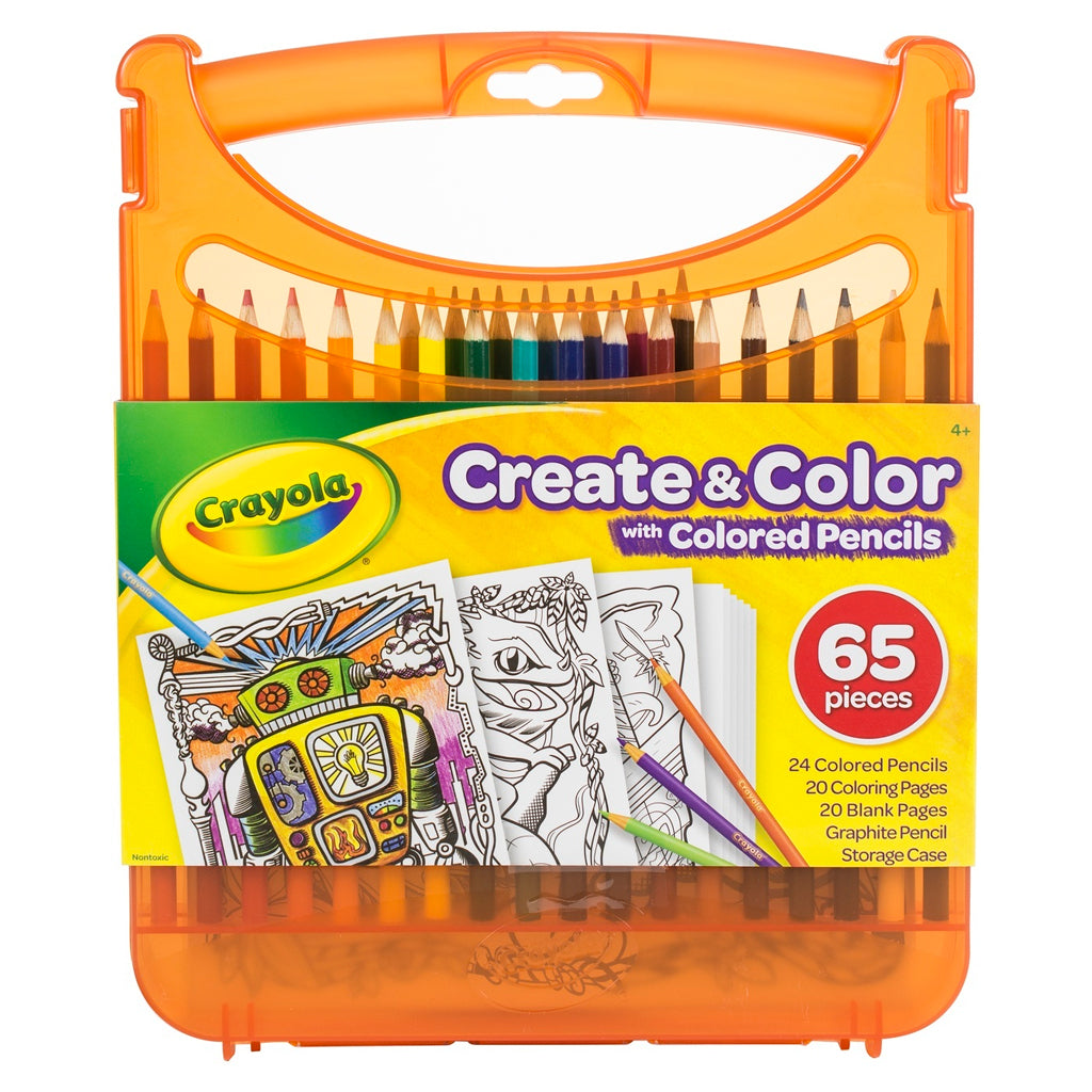 04-0376 (Crayola) - Create / color, coloring pencil kit, 12pk