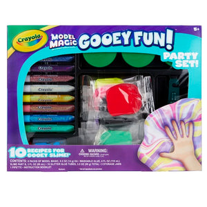 04-0527 (Crayola) - MM, Gooey Fun Party Set, 4pk
