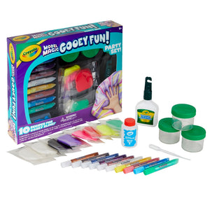 04-0527 (Crayola) MM Gooey Fun Party Set