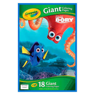 Crayola Coloring Pages - Libro De Colorear-Dory Giant Coloring Pages 04-2006