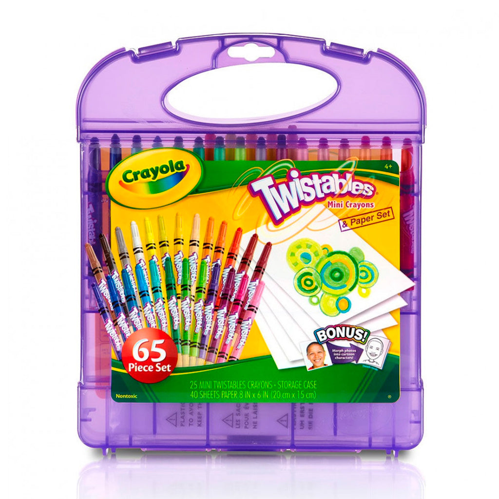 Kit de 25 Mini Crayones Giratorios Twistables (Crayola) 04-2705
