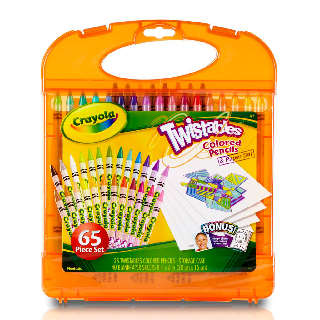 Kit de Lápices Giratorios Twistables (Crayola) 04-5225
