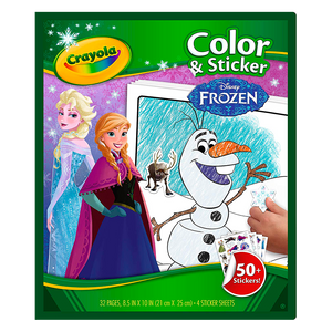 Color N' Sticker-Frozen 48 Pages 04-5864