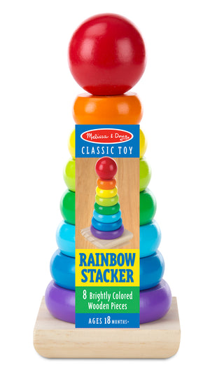 Apilador Clásico Arcoiris - Melissa and Doug - 576
