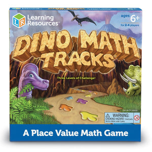 Juego : Huellas Matemáticas de Dinosaurio - Learning Resources - 0712