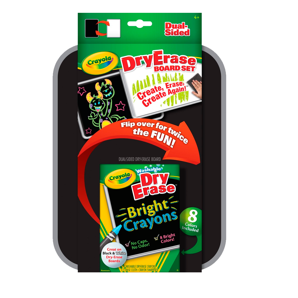 Dry-Erase  - Dual Sided Board Set 98-8638 (Crayola)