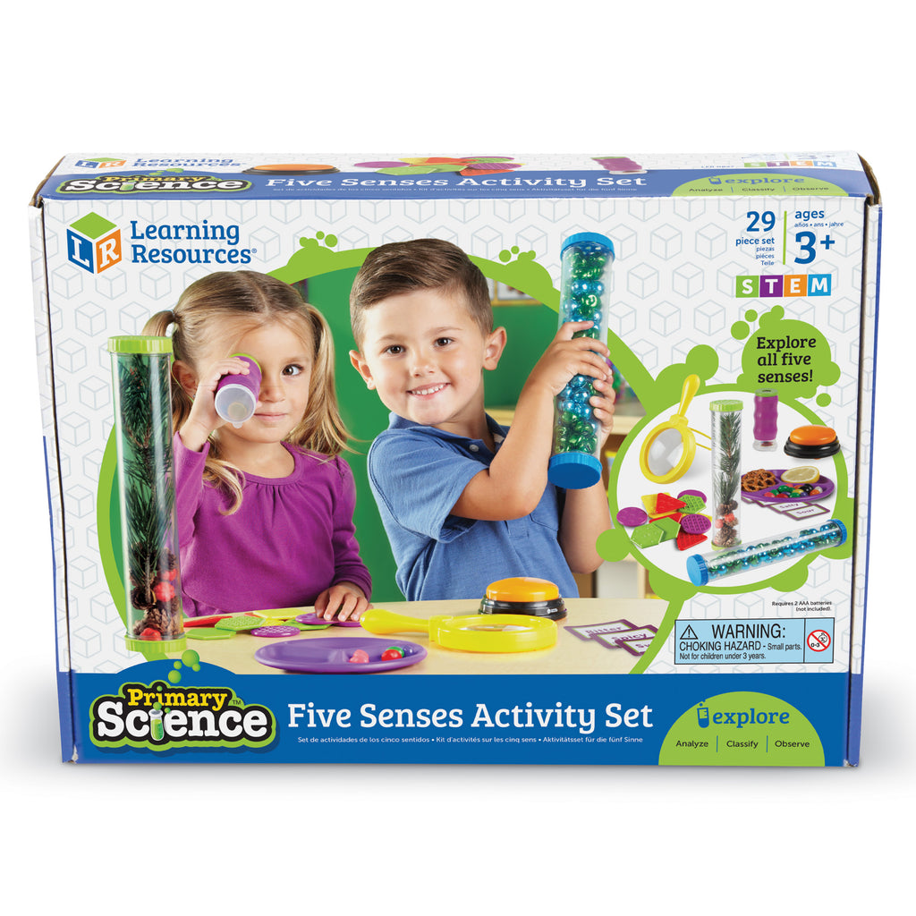 Set Actividades 5 Sentidos - Learning Resources - 0827