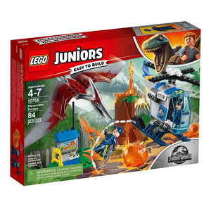 10756 (LEGO) JUNIOR - Huida del Pteranodon - Jurassic World