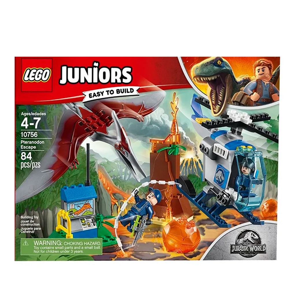 10756 (LEGO) JUNIOR - JURASSIC WORLD - Huida del Pteranodon