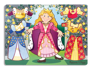 Rompecabeza Combinar Vestuario Princesas - Princess Dress Up Mix 3291
