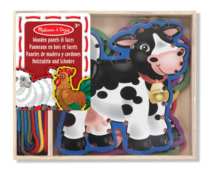 Set de Entrelazado de Animales De La Granja - Melissa and Doug - 3781