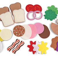 Juguete Set De Sandwiches 3954