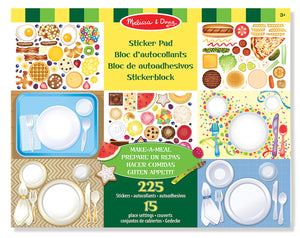 Libro de Stickers Para Hacer Comidas - Melissa and Doug - 4193