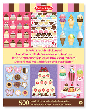 Libro de 500 Stickers De Delicias Y Exquisiteces - Melissa and Doug - 4239